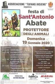 Ad Anagni la festa di Sant'Antonio Abate patrocinata da Confagricoltura